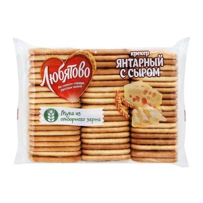 Крекер Любятово Янтарный с сыром
