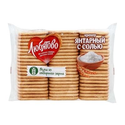Крекер Любятово Янтарный с солью