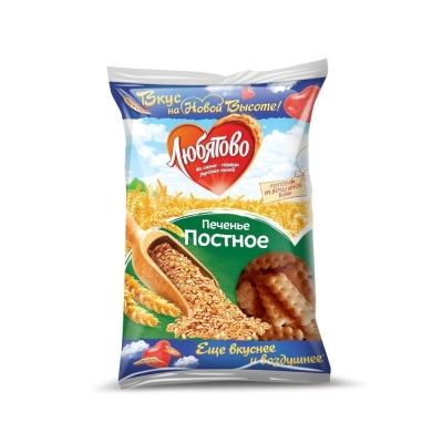 Печенье Любятово Постное затяжное