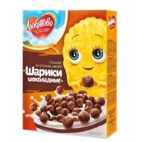 Сухие завтраки Любятово Шарики шоколадные
