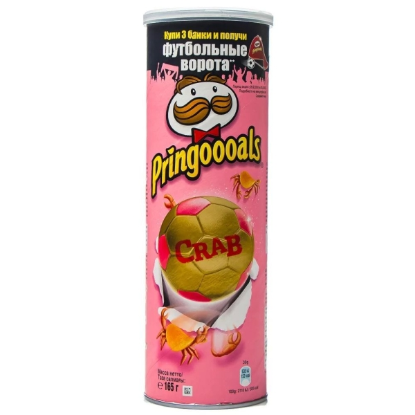 Чипсы Pringles Краб