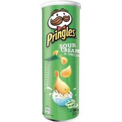 Чипсы Pringles Сметана и Лук