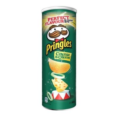 Чипсы Pringles Сыр и Лук
