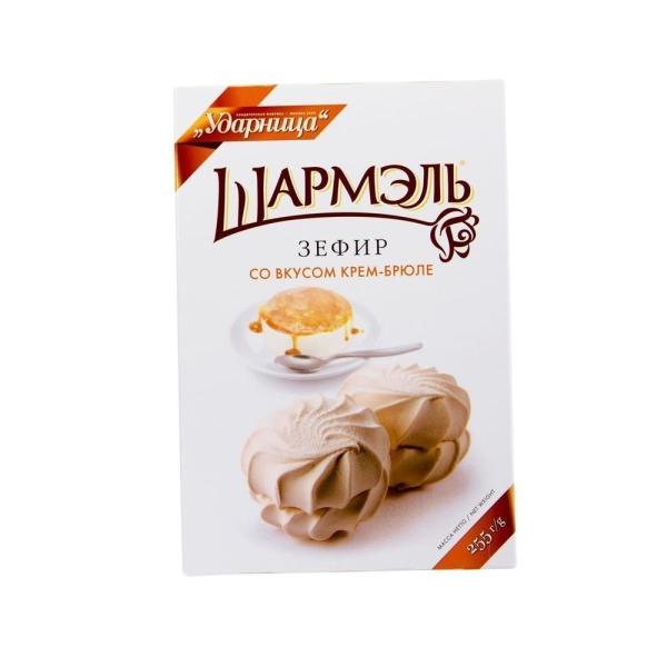 Зефир Ударница Шармэль со вкусом крем-брюле
