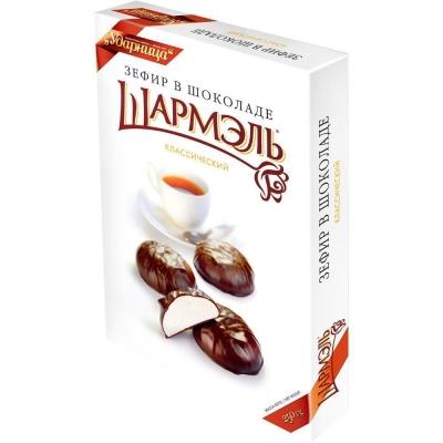 Зефир Ударница Шармэль классический в шоколаде