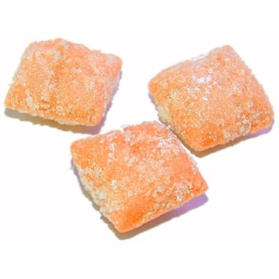Карамель Такф Апельсиновый йогурт в сахаре открытая