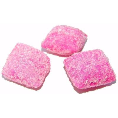 Карамель Такф Малиновый йогурт в сахаре открытая