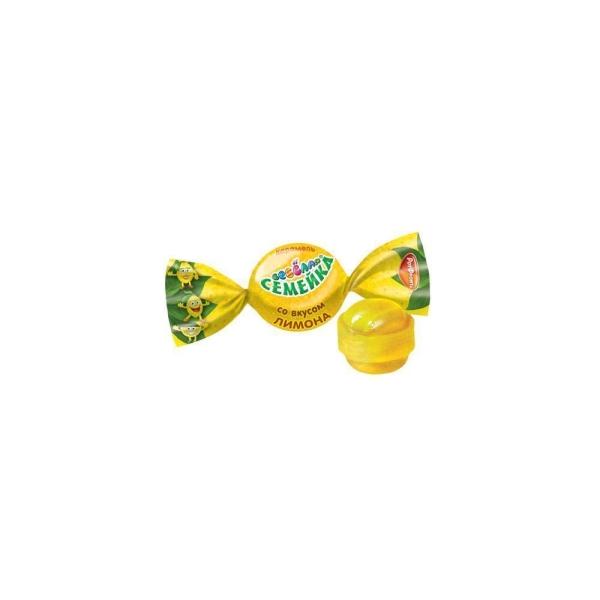 Карамель Такф Веселая семейка со вкусом лимона