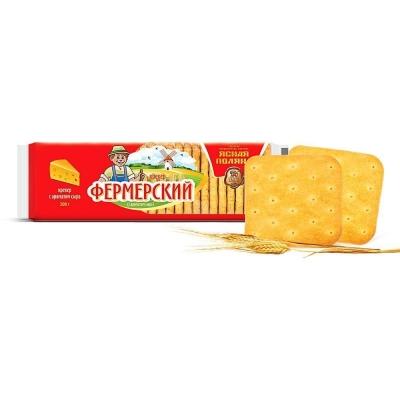 Крекер Ясная поляна Фермерский с ароматом сыра
