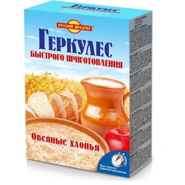 Геркулес Русский продукт быстрого приготовления