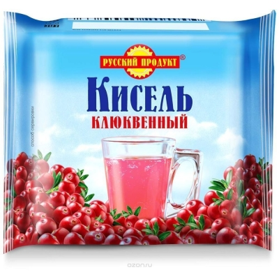 Кисель Русский продукт клюква (брикет)