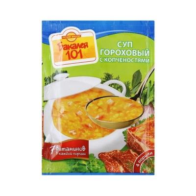 Суп Русский продукт гороховый с копченостями