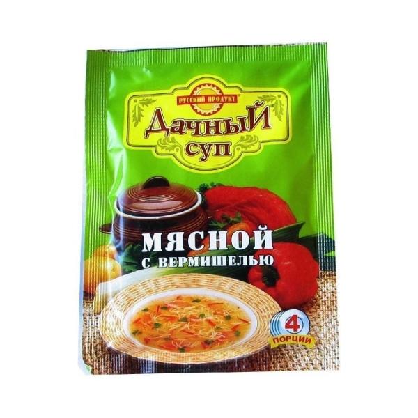 Суп Русский продукт Дачный Мясной с вермишелью