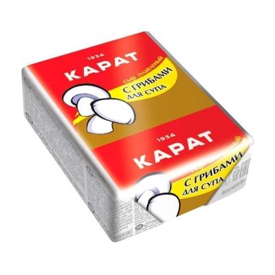 Сыр плавленый 'Карат' с грибами для супа 45%