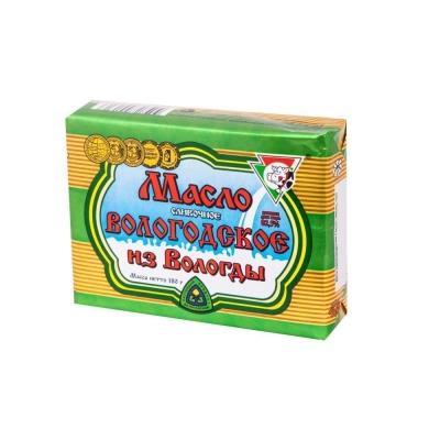 Масло сливочное 'Вологодское' 82,5%