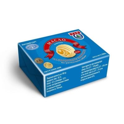 Масло сливочное 'ЛАВ ПРОДУКТ ' Традиционное 82,5%