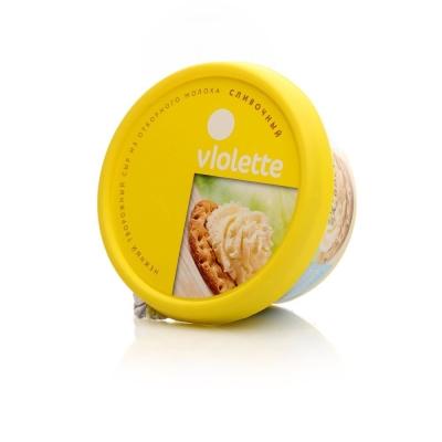 Сыр Творожный 'Виолетта' сливочный