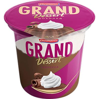 Пудинг Эрманн 'Гранд Десерт' шоколадный 5,2%