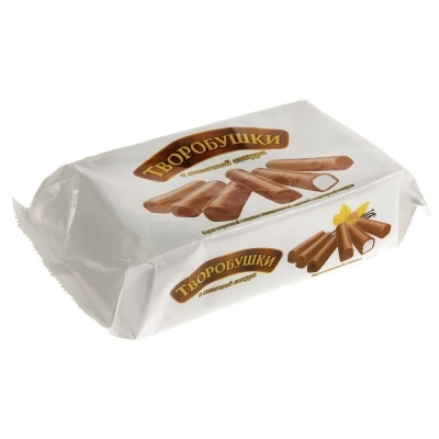 Сырок творожный в молочном шоколаде 'Творобушки' с ванилью 21%