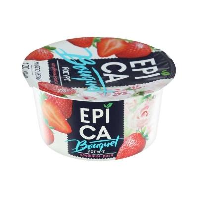 Йогурт 'EPICA Bouquet' c КЛУБНИКОЙ и РОЗОЙ 4,8%