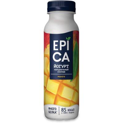 Йогурт питьевой 'EPICA' с МАНГО 2,5%