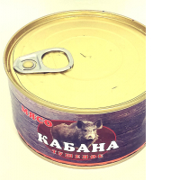 Тушеное мясо кабана Егерь Высший сорт
