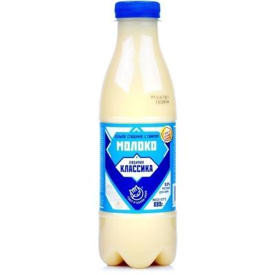 Молоко сгущенное Любимая Классика, ГОСТ бутылка