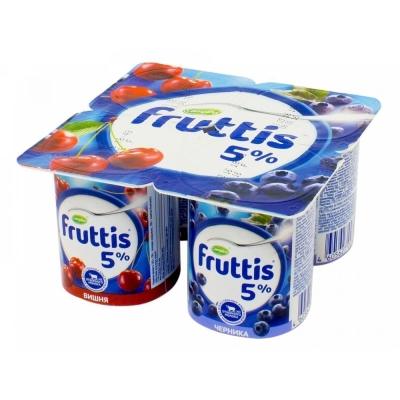 Продукт йогуртный Фруттис 5% вишня-черника