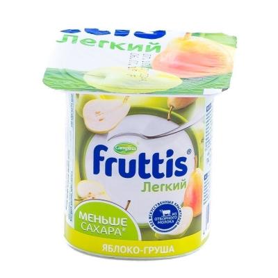 Продукт йогуртный Фруттис легкий абрикос-манго, яблоко-груша 0,1%