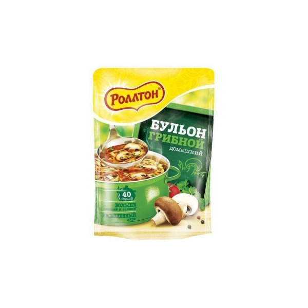 Бульон грибной домашний Роллтон пакет