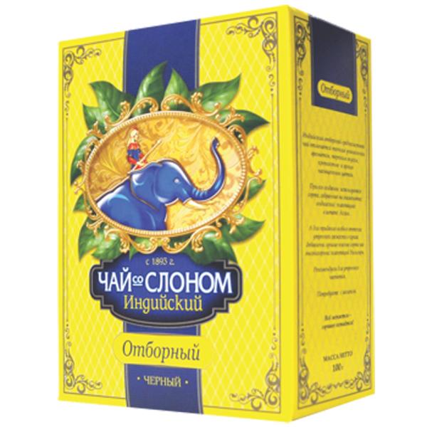 Чай Со слоном Индийский отборный