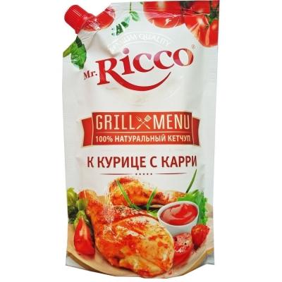 Кетчуп Mr.Ricco К курице с карри дой-пак.
