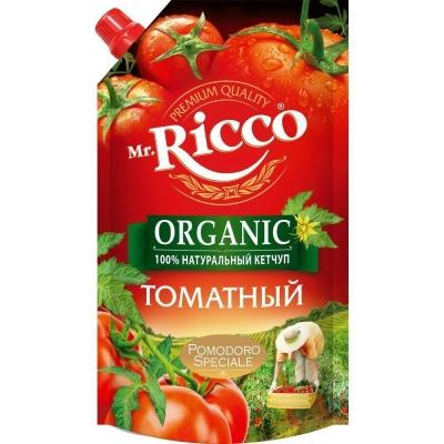 Кетчуп Mr.Ricco Томатный дой-пак.