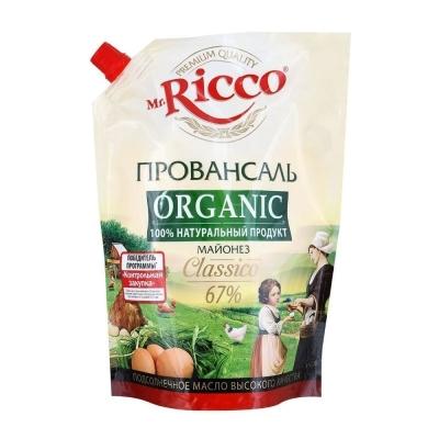 Майонез Mr.Ricco Провансаль 67% (пакет дозатор)