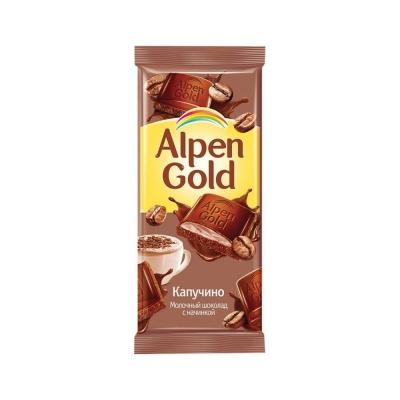 Шоколад Аlpen Gold капучино