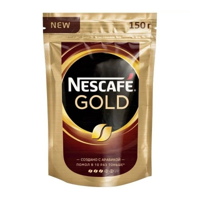 Кофе Нескафе Голд с добавлением молотого пакет
