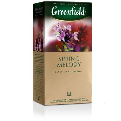Чай Гринфилд Spring Melody 25 пак.