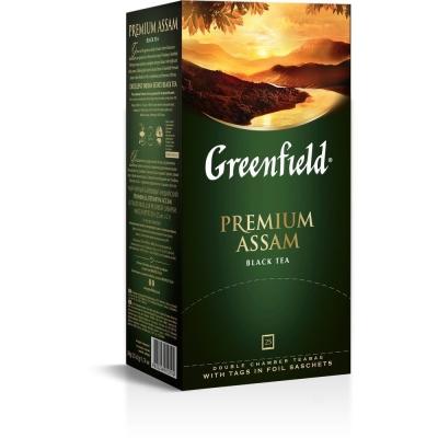Чай Гринфилд Премиум АССАМ 25 пак.