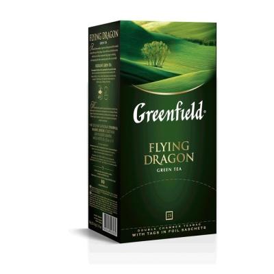 Чай Гринфилд Флаинг Драгон зелёный 25 пак.