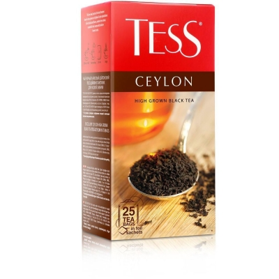 Чай Тесс Ceylon черный 25 пак.