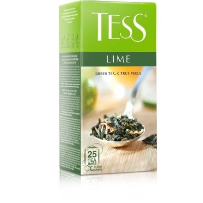 Чай Тесс Lime зеленый 25 пак.