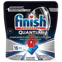 Капсулы для посудомоечных машин Finish Quantum Ultimate 15 шт дойпак