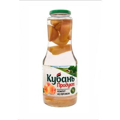 Компот 'Кубань Продукт' персиковый