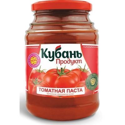 Томатная паста 'Кубань Продукт' 25%