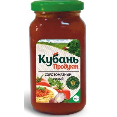 Соус 'Кубань Продукт' острый томатный