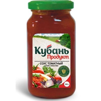 Соус 'Кубань Продукт' острый томатный со специями