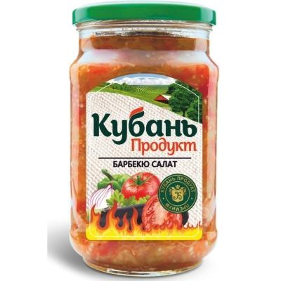 Салат барбекю 'Кубань Продукт' из баклажанов и томатов