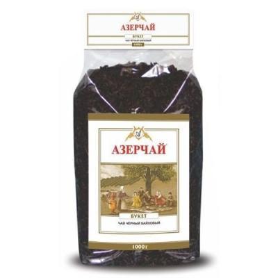 Чай черный крупнолистовой Азерчай 'БУКЕТ'