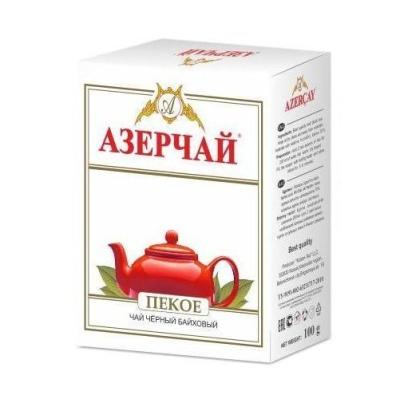 Чай черный среднелистовой Азерчай ПЕКОЕ