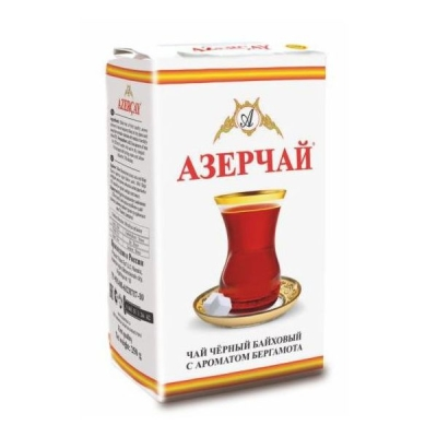 Чай черный Азерчай с ароматом бергамота